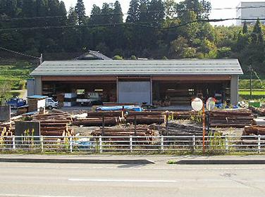 木材・古材保管倉庫 |富山・石川の注文住宅・木造住宅・古材リフォームなどの外断熱の家づくり。株式会社アキ
