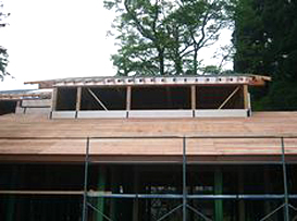 屋根面・壁面の断熱