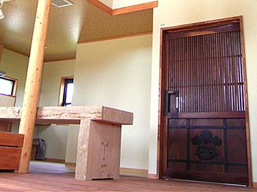 古材施工事例 家族の歴史と思い出の家